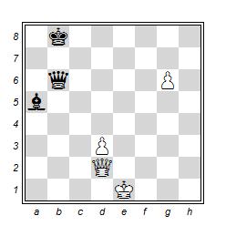 Fesslung im Schach 1